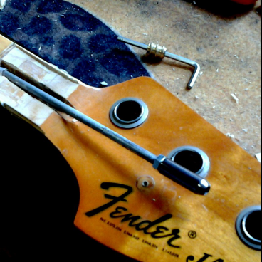 Truss-rod replacement (conservative)