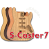 S-Caster7 Body (7 Strings)