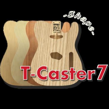 T-Caster7 Body (7 Strings)