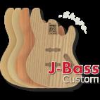 J-Bass Custom Body