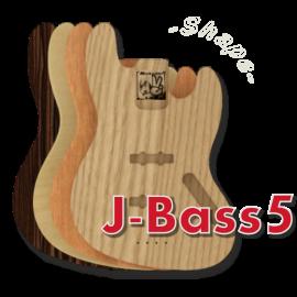 stile jazz bass 5 corde
