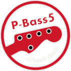 P-Bass Neck 5 strings