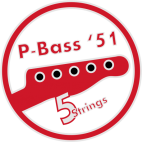 Vintage p-Bass Neck 5 strings