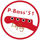 Vintage P-Bass Neck Lefty