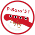 Vintage P-Bass Neck Lefty