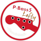 P-Bass Neck 5 strings Lefty