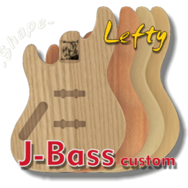 J-Bass Custom Body