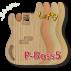 P-Bass Body STD